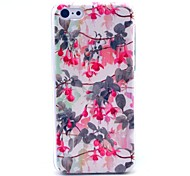 Enkianthus Chinensis Flower Pattern Hard Cover Case for iPhone 5C