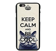 Keep Calm and Be Cool Design Hard Case for iPhone 6