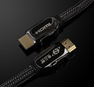 v1.4 jsj® masculina 3D HDMI 2160p 4k a macho cable hdmi súper clara (od9.0mm 1.8m 5.9ft)