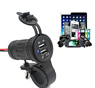 New Motorcycle Dual USB Car Charger