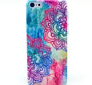 iPhone 7 Plus Mandala Flower Pattern Hard Cover Case for iPhone 5/5S