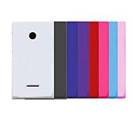 Pajiatu Mobile Phone Hard PC Back Cover Case Shell for Microsoft Lumia 435 (Assorted Colors)