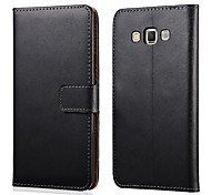 Genuine Leather Wallet Style Case for Samsung Galaxy A7