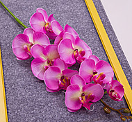 "40"" Long Fabric Butterfly Ochird Set of 3 Pink Color"
