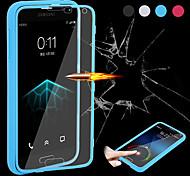 Teléfono Móvil Samsung - Carcasas de Cuerpo Completo - Color Sólido - para Samsung S5 i9600 ( Negro/Blanco/Azul/Rosa , Silicona/TPU )