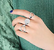 New Coming Punk Style Wholesale Simple New Design Finger Ring