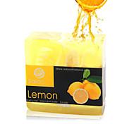 High Quality Essence Oil Soap Whitening Shrink Pores Lemon