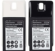 batteria di ricambio - Note 3 III N9000 N9005 - 6800mAh - Samsung - Samsung Galaxy Note 3 - con caricabatterie - USB