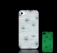 For iPhone 5 Case Glow in the Dark Case Back Cover Case Tile Hard PC iPhone SE/5s/5