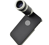 Optical 8X Zoom Telescope Lens Manual Focus with Hard Case for iPhone 5 /5S