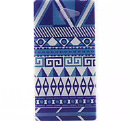 National Wind Pattern Soft TPU Case for Sony Xperia M2