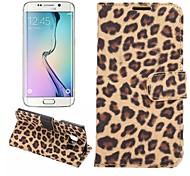 Samsung Handy - Samsung Samsung Galaxy S6 edge - Hüllen (Full Body) - Grafik ( Schwarz/Braun/Gold , PU Leder )