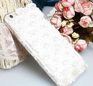 Fashion Diagonal Love beautiful lace  Case Bowknot Pattern Rhinestone Case for iPhone6