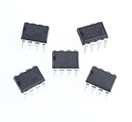 AT24C08 Serial EEPROM 2.7-5.5V 8K Memory DIP-8(5Pcs)