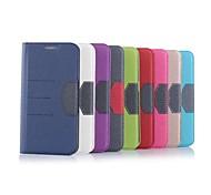 Teléfono Móvil Samsung - Fundas con Soporte - Diseño Especial - para Samsung Samsung Galaxy S6 edge (Negro/Blanco/Rojo/Verde/Púrpura/Rosa/Dorado/Azul
