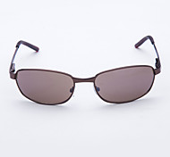Sunglasses Men's Classic / Sports / Fashion Rectangle Brown / Dark Gray Sunglasses Full-Rim