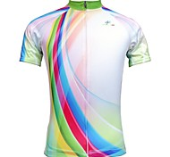Jesocycling® Women's Short Sleeve Spring & Summer Breathable Polyester Cycling Jerseys