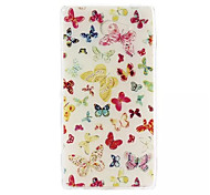 Butterfly Pattern Soft TPU Case for Sony Xperia M2