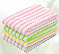 Multifunction Stripe Shape Fiber Towel (Random Color)(30*30CM)