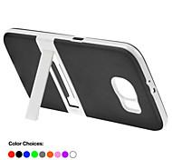 Teléfono Móvil Samsung - Cobertor Posterior/Fundas con Soporte - Color Sólido - para Samsung Samsung Galaxy S6 (