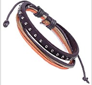 Tina -- Fashion Popular Leather Bracelet in Daily