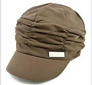 Women Knit Fashion Wrinkle Cotton Floppy Hat