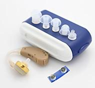alta qualidade atrás da orelha amplificador de som wireless nh ajustável receptor aparelho auditivo surdos