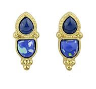 Fashion  Unique Style Gemstone Stud  Earrings