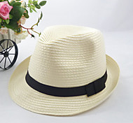 Women's Fashion Cute/Casual Straw Fedora Hat