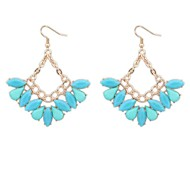 Candy Colored Sweet Drop Earrings