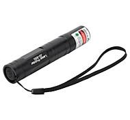 Marsing hoog vermogen muliti-functie 850 5mW 532nm groene laser pen zaklamp - zwart