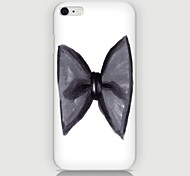 Bowknot Pattern Back Case for iPhone 6