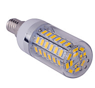 Bombillas LED de Mazorca T E14 15W 60 SMD 5730 1500 LM Blanco Cálido / Blanco Fresco AC 85-265 V 1 pieza