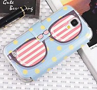Fashion Painted Eyeglasses Fenestration Full Body Case for Samsung S4 I9500