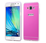 Compatible Graphic/Solid Color/Special Design Plastic/Metal/TPU Back Cover/for Galaxy A7 (Assorted Colors)