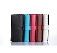Special Design Solid Color PU Leather and TPU Full Body Case Auto for Samsung Galaxy A7(Assorted Colors)