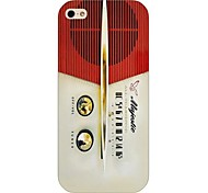 Radio Pattern Back Case for iPhone5/5S