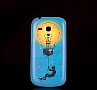 Samsung Handy - Samsung S3 Mini I8190N - Rückseitige Hülle - Grafik/Spezielles Design Plastik )