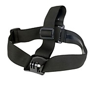 Durable Camera Adjustable Head Helmet Belt Strap Headband Mount For Gopro HD Hero 2 3 3+ Snow