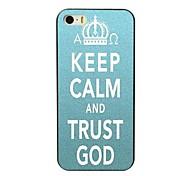 caso difícil manter a calma e confiança deus projeto para iPhone 4 / 4S