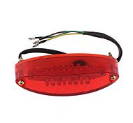 Motorcycle Quad ATV 28 LED Red White Light Rear Brake Tail License Plate