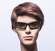 Anti-Reflective Rectangle Plastic Fashion Sunglasses
