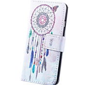 Dream Catcher Pattern PU Leather Full Body Cover with Card Slot for iPhone 6