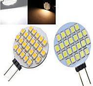 1 pcs  G4 3 W 24LED X SMD 3528 500 LM 2800-3500/6000-6500 K Warm White/Cool White Spot Lights DC 12 V