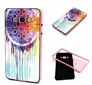 2-in-1 Oil Painting Pattern TPU Back Cover with PC Bumper Shockproof Soft Case for Samsung Galaxy A5