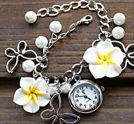 Women's Japan And South Korea Version Of Fflower Bracelet Watch