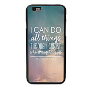 I CAN DO Design PC Hard Case for iPhone 6