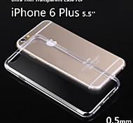 5.5Inch Ultra Thin Soft TPU Gel Transparent Case for iphone 6S Plus/6 Plus