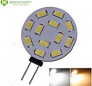 1 stuks SENCART G4 6W 12 SMD 5730 450-550 LM Warm wit / Koel wit MR11 Decoratief LED-spotlampen DC 12 / AC 12 / AC 24 / DC 24 V