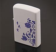 Refined Kerosene Lighter Blue And White Porcelain Style